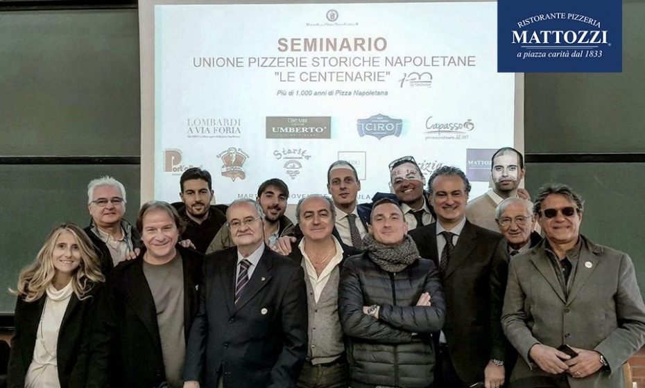 La pizza all'università, con l'Unione Pizzerie