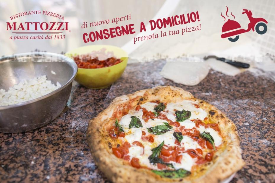 Iniziamo con l'asporto, che pizza prendi tu?
