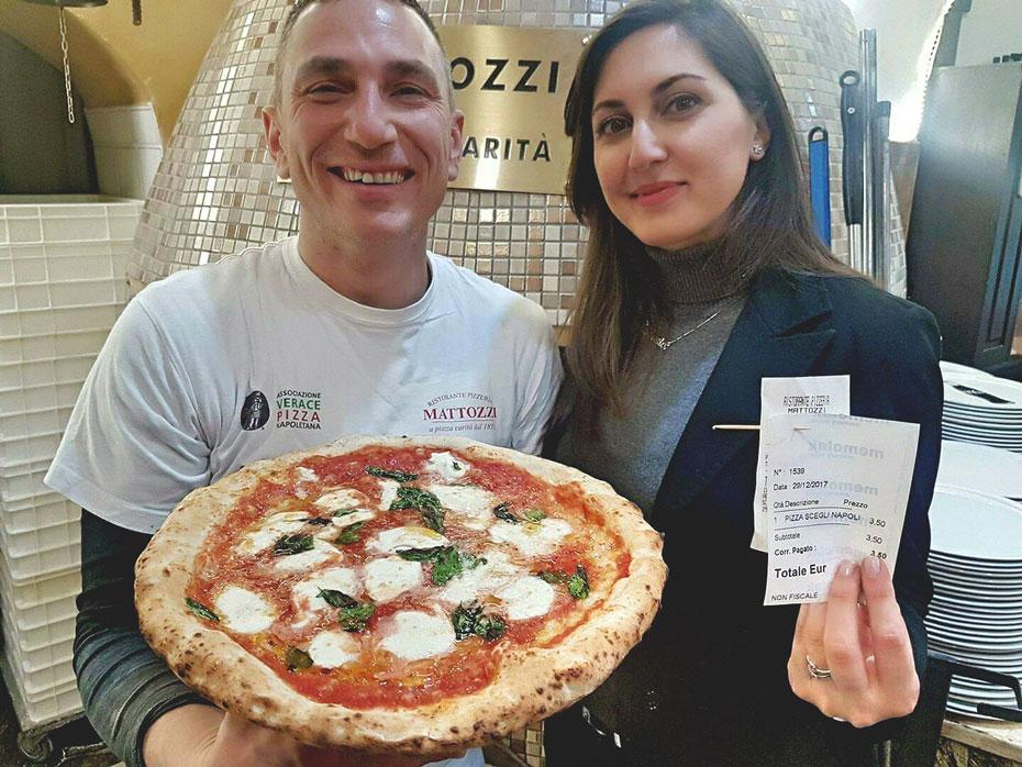 Scegli Napoli, la pizza di Mattozzi per Napoli Città Autonoma